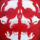 Exploded Skull by username4343