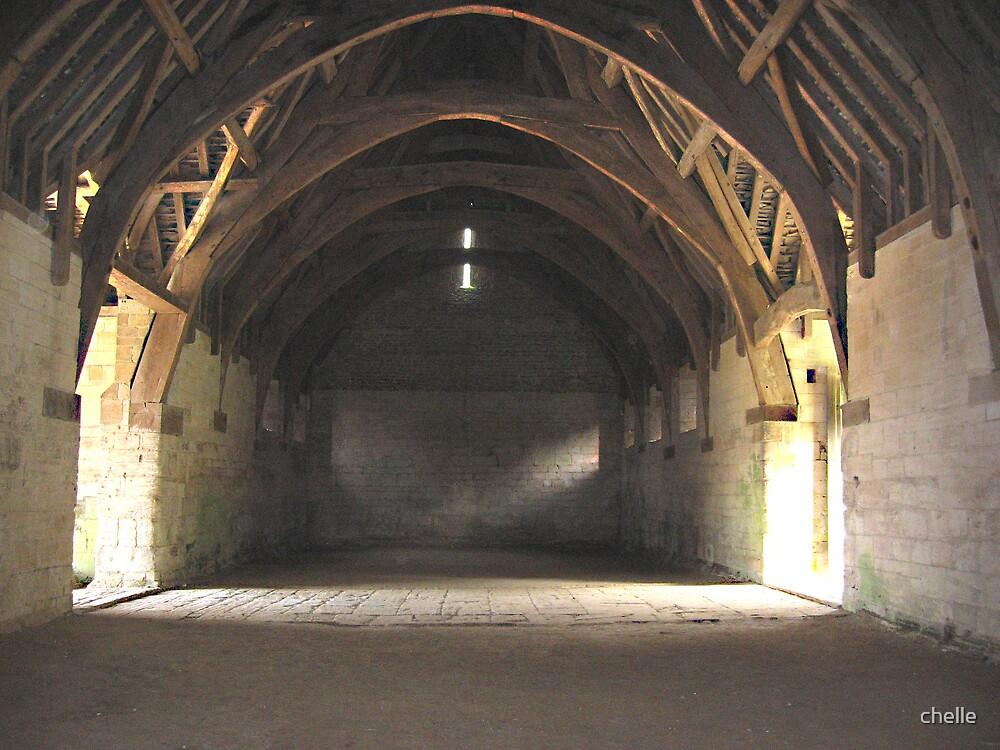 The Tithe Barn by chelle