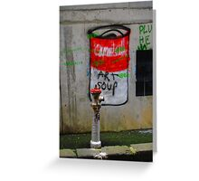 campbells soup Greeting Card