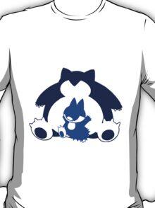 Snorlax and Munchlax T-Shirt
