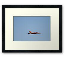Canadian F16 replica Framed Print