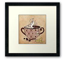 Coffee or Tea? Framed Print