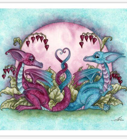 Love Dragons Sticker