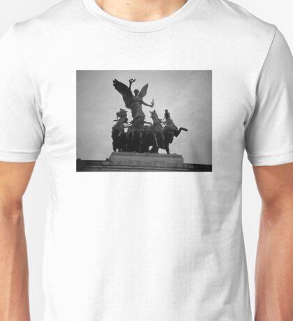 Atop the Wellington Arch Unisex T-Shirt
