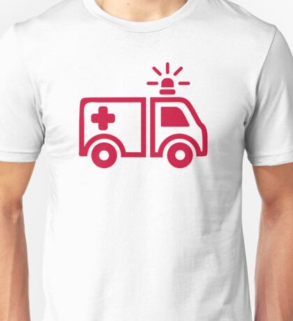 Ambulance car Unisex T-Shirt