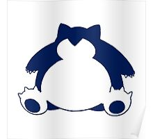 Snorlax Poster