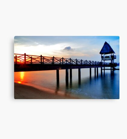 Difference side by side Canvas Print