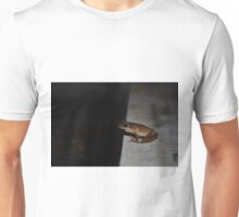 Peering into darkness Unisex T-Shirt