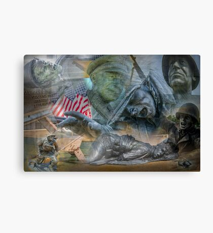 D DAY LAYER Canvas Print