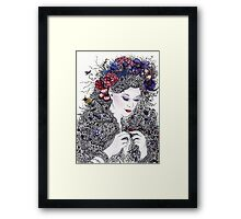Fair Flora Framed Print
