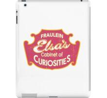 Fraulein Elsa's Cabinet Of Curiosities Freak Show iPad Case/Skin