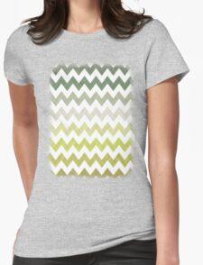 Cactus Garden Chevron 2T Womens Fitted T-Shirt