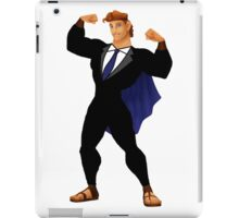 Hercules in a Suit iPad Case/Skin