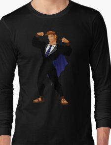 Hercules in a Suit Long Sleeve T-Shirt