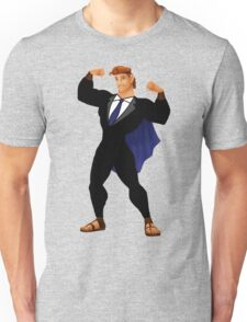 Hercules in a Suit Unisex T-Shirt