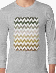Cactus Garden Chevron 1T Long Sleeve T-Shirt