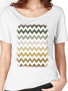 Cactus Garden Chevron 1T Women's Relaxed Fit T-Shirt