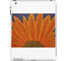 Orange burst iPad Case/Skin