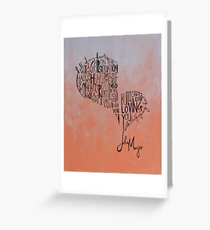 Half of My Heart Greeting Card