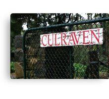 Culraven Canvas Print