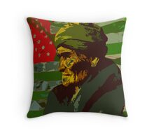 Geronimo In Deafeat Throw Pillow