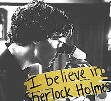 #BelieveInSherlock by Brooklynn Greene