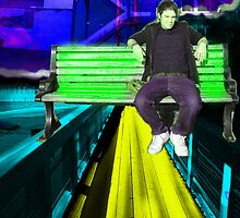 Sitting on Urban  by Craig  Jenkins