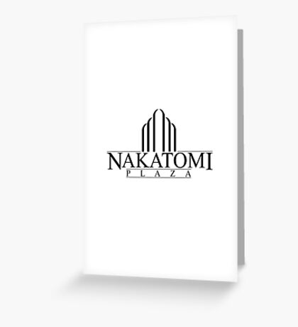 Nakatomi Plaza - Die Hard Greeting Card