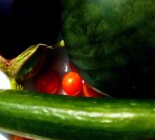 Home Grown Garden Veggies and Fruit Sticker