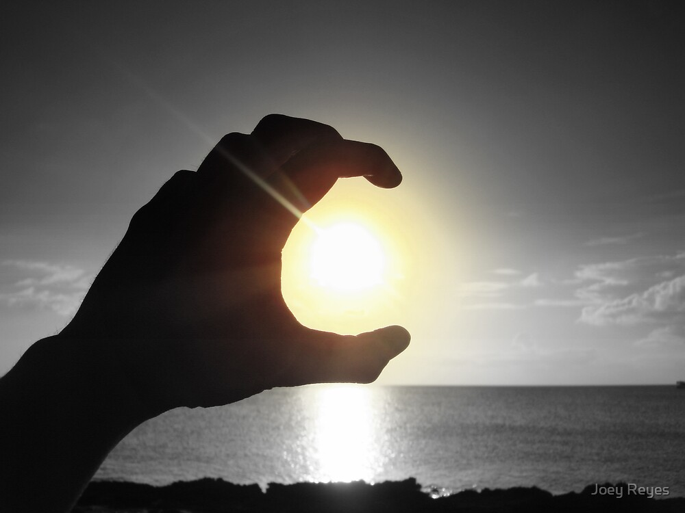 The Sun in my hands by Joey Reyes