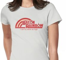 Bacon Rainbow Womens Fitted T-Shirt