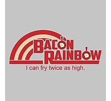 Bacon Rainbow Photographic Print