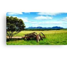 Splender in the Grass Canvas Print