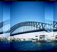 Sydney Harbour Bridge by thescatteredimage