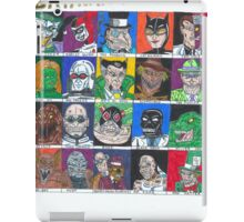 Batman Villains iPad Case/Skin