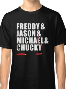 Freddy, Jason, Michael & Chucky Classic T-Shirt