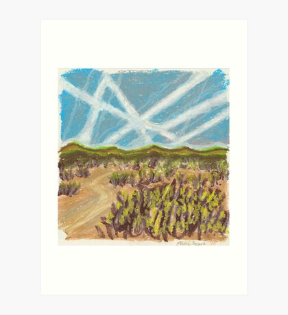 Mojave Desert Art Print