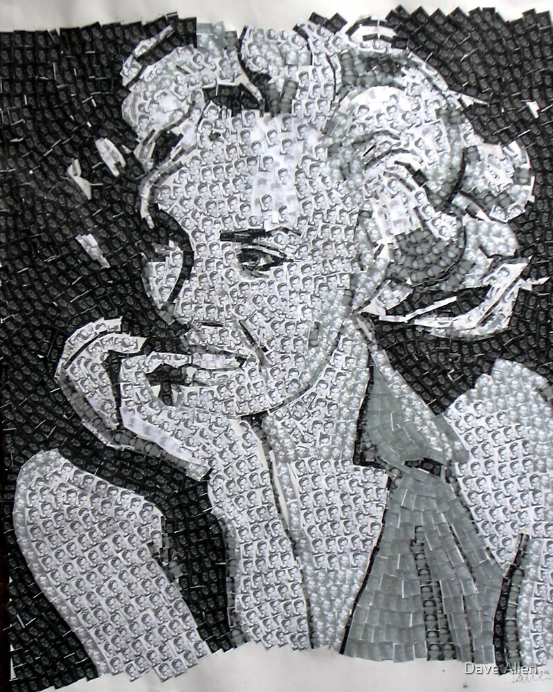 Marilyn Monroe by Dave Allen