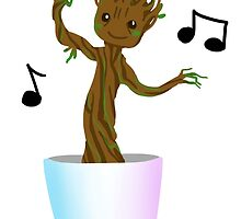 Dancing Baby Groot! by ebozone