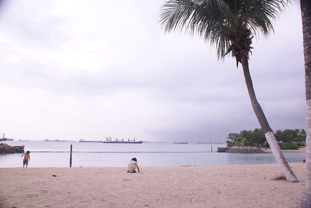 Singapore - Kids on the Beach at Sentosa by tmac
