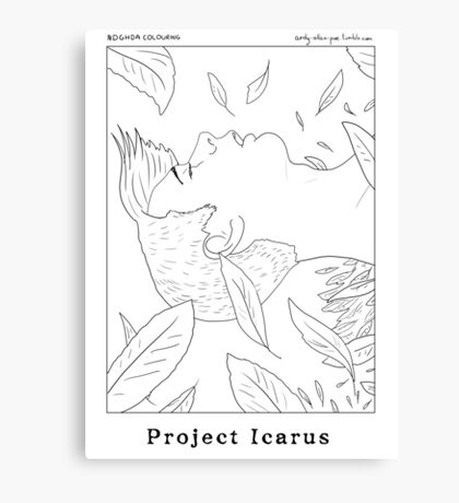 Project Icarus Canvas Print