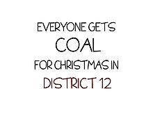 Coal for Christmas Photographic Print