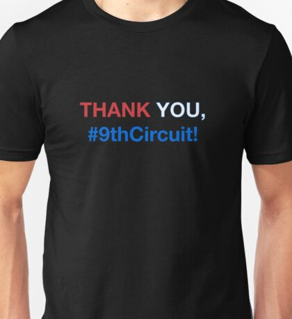 #9thCircuit Thank You - Red White Blue Unisex T-Shirt