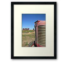 Autumn Harvest on The Farm Framed Print