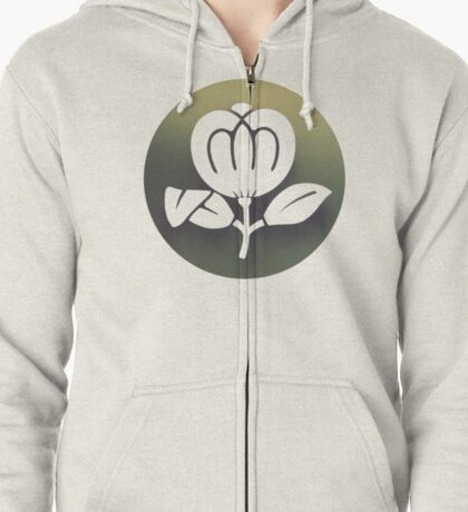 Fleetwood Mac Flower (Greatest Hits) Zipped Hoodie