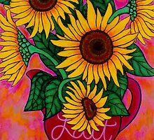 Funky Florals by Lisa Lorenz by LisaLorenz