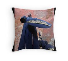 Blue Guardians Throw Pillow