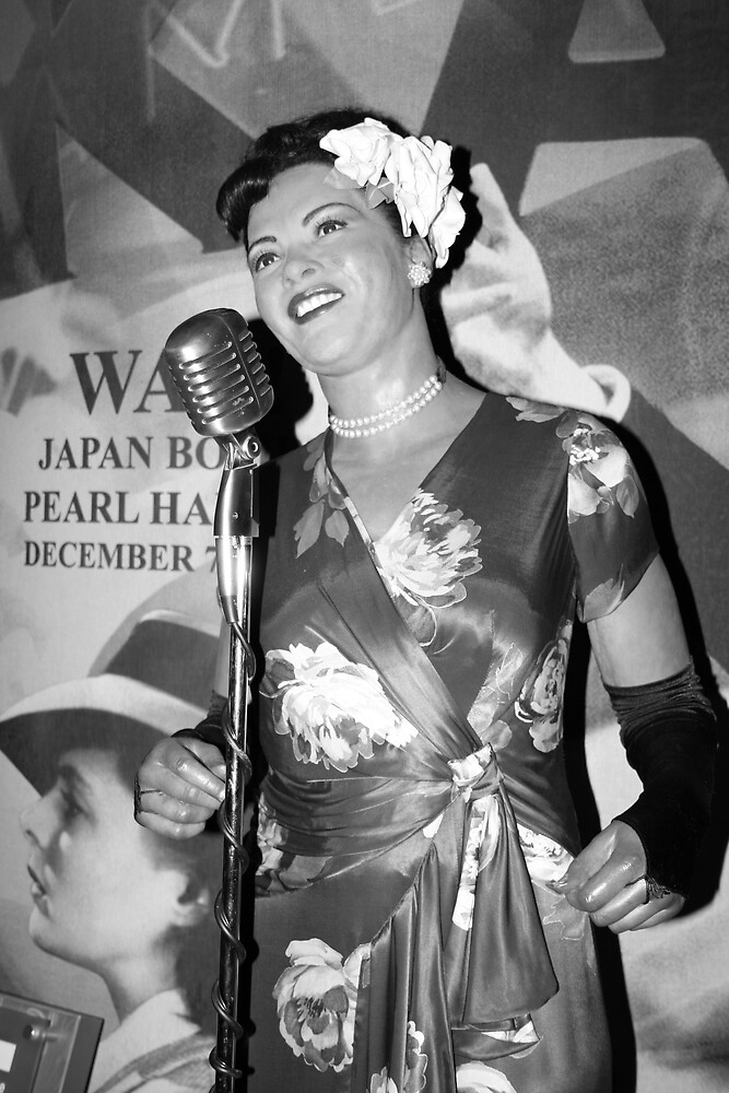 billy holiday  by Alma Ní Chuinn