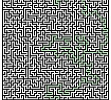 Real obstacles maze by nexulino