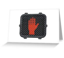 Stop and Talk to the Hand Greeting Card